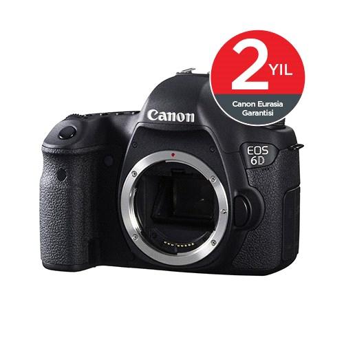 Canon EOS 6D Body SLR Dijital Fotoğraf Makinesi