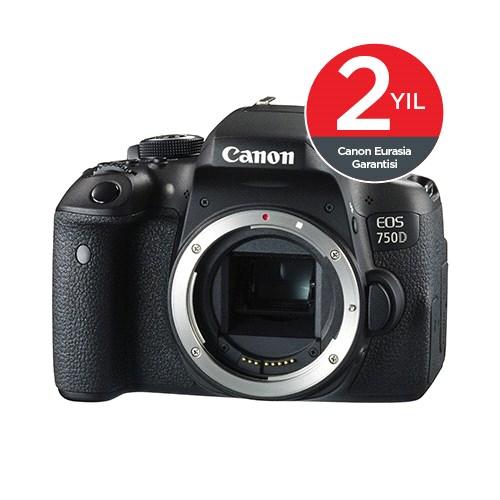 Canon EOS 750D Body DSLR Fotoğraf Makinesi