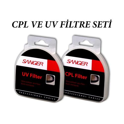 Sanger 67Mm Polarize + Uv Filtre Seti
