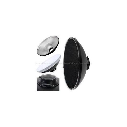 Weifeng A-120 70Cm Beauty Dish Radar Reflektör + Grid Petekli