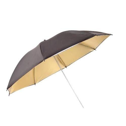 Weifeng Ur02 33'' 84 Cm Black/Gold Şemsiye