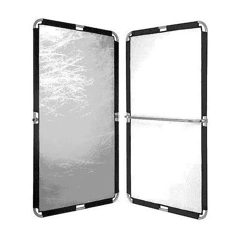 Fomex Pfr1120 Peri Bounce Frame Reflektör Silver/White 1.1/ 2.0 Metre