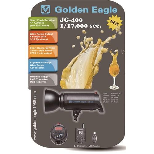 Golden Eagle Jg-400 1/17000 Sec Paraflash