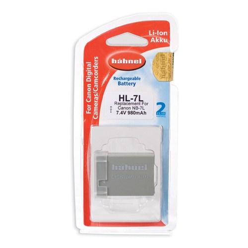 Hahnel HL-7L Canon Tipi Li-Ion Pil