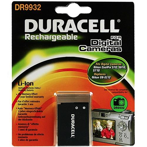 Duracell DR9932 Nikon EN-EL12 Batarya