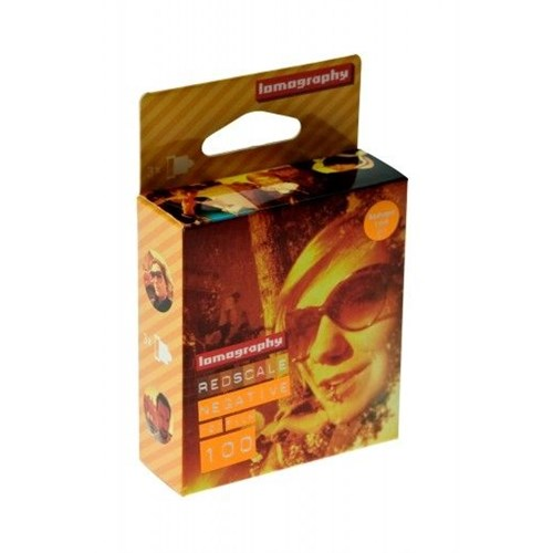 Lomography Redscale 100 Asa 120 Film (3'Lü Paket)