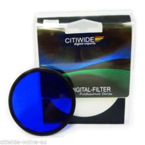 Citiwide 58Mm Full Mavi Filtre