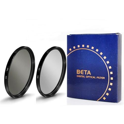 Beta 72Mm Koruyucu Uv Filtre + Cpl Circular Polarize Filtre