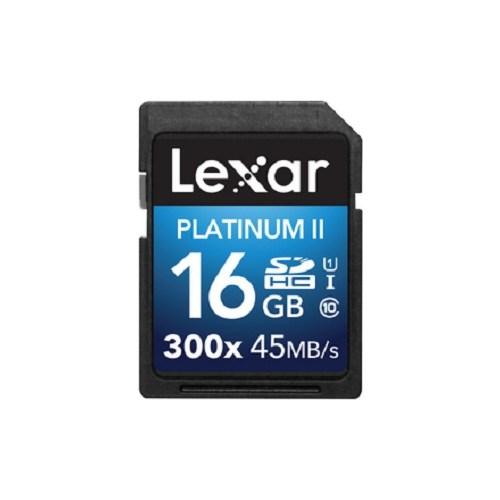 Lexar 16GB 300X Premium II SDHC Hafıza Kartı Class10 U1 45MB/sn (LSD16GBBEU300)