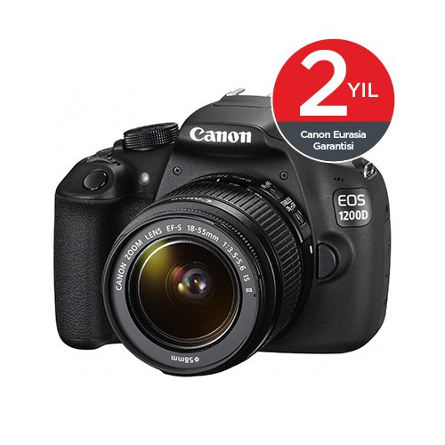 Canon Eos 1200D 18-55 mm IS SLR Dijital Fotoğraf Makinesi