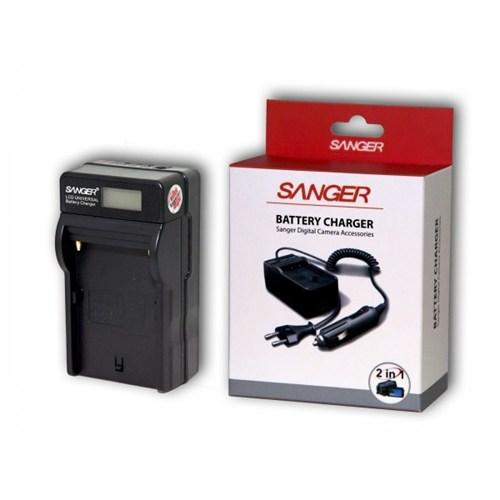 Sanger Canon Lp-E6 Lpe6 Şarj Cihazı