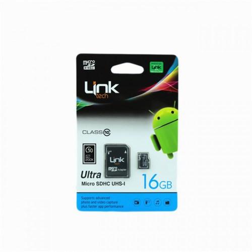 Link Tech Micro Sd Hc Ultra 16 Gb Hafıza Kartı