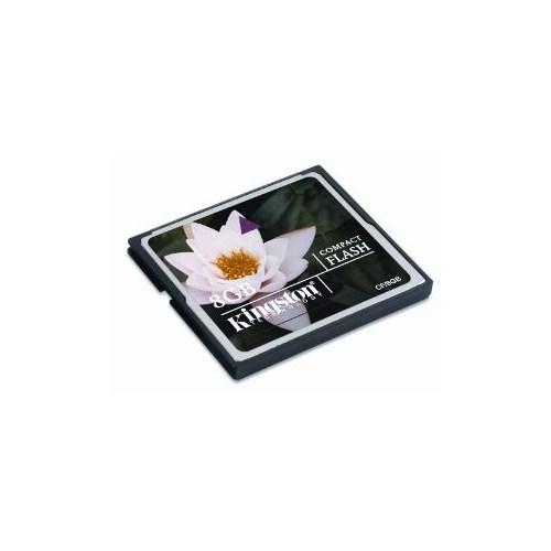 Kingston 8 Gb Compact Flash Card Hafıza Kartı CF/8GB