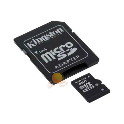 Kingston 4 GB Class 4 Micro SDHC Hafıza Kartı SDC4/4GB