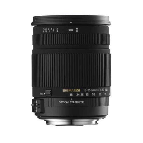 Sigma 18-250MM F/3.5-6.3 DC OS HSM ASP IF OBJEKTİF 271018250
