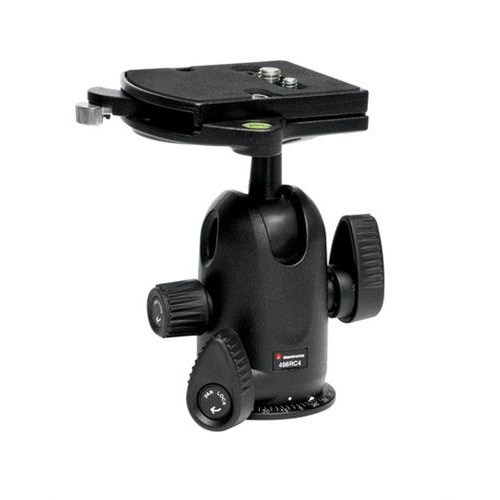 Manfrotto 498RC4 Mini Ball Head W/RC2