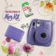 Fujifilm Instax Mini 8 Şipşak Makine 3'lü Kit Mor