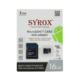 Syrox 16 Gb Micro Sd Card Hafıza Kartı Adaptörlü
