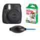 Fujifilm İnstax Mini 8 Siyah + 10'lu Kağıt + Pompa