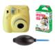 Fujifilm İnstax Mini 8 Sarı + 10'lu Kağıt + Pompa