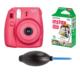 Fujifilm İnstax Mini 8 Raspberry + 10'lu Kağıt + Pompa