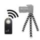 Nikon D5500 İçin HLYpro Gorillapod Tripod + ML-L3 Uzaktan Kumanda