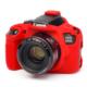 Canon 1300D Kırmızı EasyCover (Silikon Kılıf)