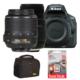 Nikon D5500 + 18-55mm + Sigma 70-300mm DG MACRO + Hafıza Kartı + Çanta