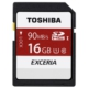 Toshiba 16GB SDHC UHS-1 C10 90MB/sn (Exceria)