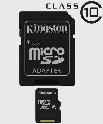microSDHC Kart – Class 10