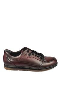 Erkek Deri Ayakkabı Bordo