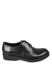 Matraş Kadın Erkek Klasik Ayakkabı Siyah