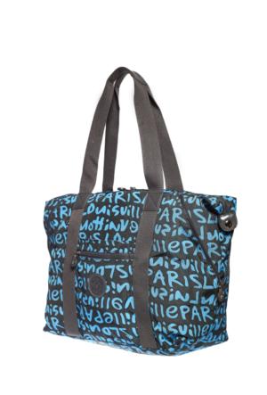 Smart Bags Kadın Omuz Çantası Brc1021 Gri 47*31*15