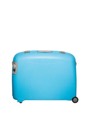 Mçs Polycarbonate Büyük Boy Valiz Mçsv1102.05 Mavi L(76*57*29)
