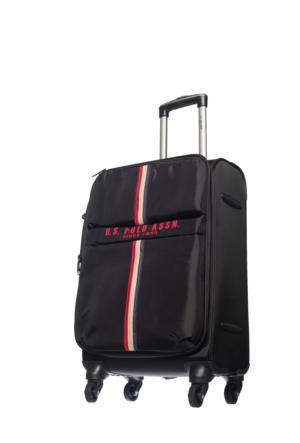 U.S.Polo Assn Kumaş Kabin Boy Valiz Mc0062 Siyah S(55*36*21)