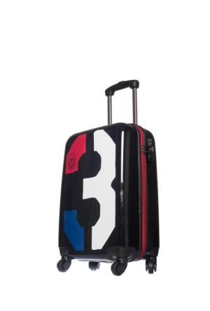 U.S.Polo Assn Polycarbonate Kabin Boy Valiz Mc0032 Siyah S(55*36*21)