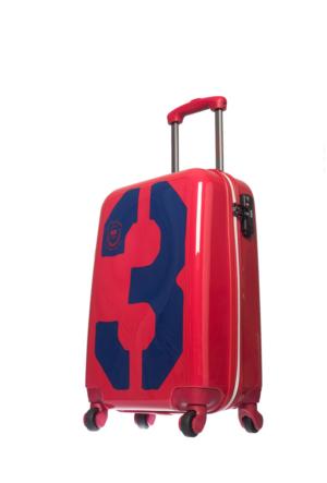 U.S.Polo Assn Polycarbonate Kabin Boy Valiz Mc0033 Kırmızı S(55*36*21)