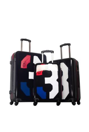 U.S.Polo Assn Polycarbonate Set Valiz Mc0032 Siyah L(75*47*28)M(65*43*25)S(55*36*21)