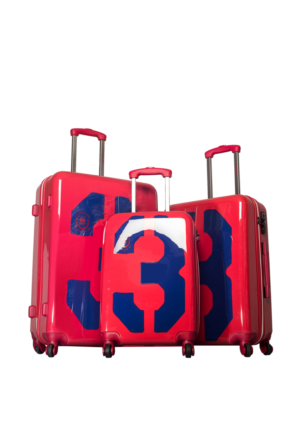 U.S.Polo Assn Polycarbonate Set Valiz Mc0033 Kırmızı L(75*47*28)M(65*43*25)S(55*36*21)