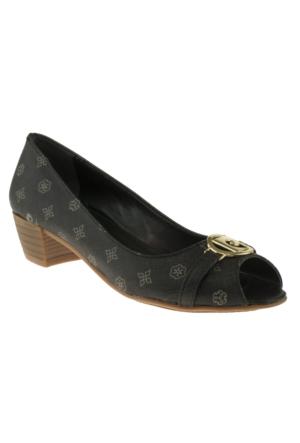 Pierre Cardin 45101 On Acik Siyah Kadın Ayakkabı