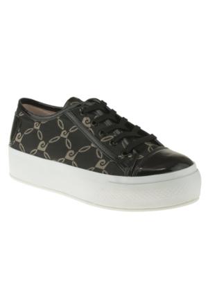 Pierre Cardin 46146 Bağlı Sneakers Siyah Kadın Ayakkabı