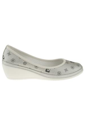 Pierre Cardin 45502 Sade Feta Gümüş Kadın Ayakkabı