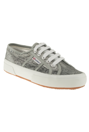 Superga 2750-3 Animalnetw Gümüş Kadın Ayakkabı