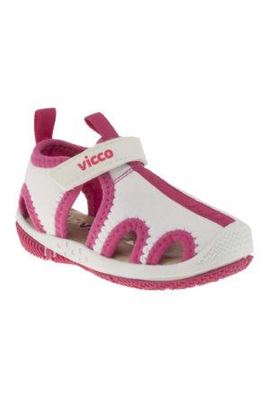 Vicco 332U384 Tek Cirt Pembe Çocuk Sandalet