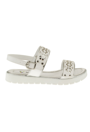Vicco 321U777 Kartane Bantli Gümüş Çocuk Sandalet