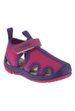Vicco 332U384 Tek Cirt Fuşya Çocuk Sandalet
