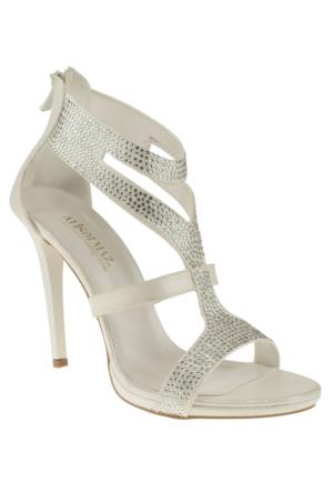 Alisolmaz 3023 Bantli Sedef Kadın Ayakkabı