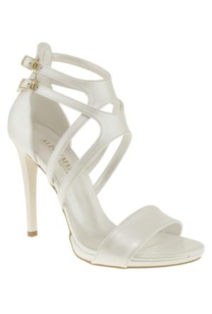 Alisolmaz 3050 Çift Toka Sedef Kadın Ayakkabı