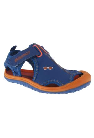 Spyman Jupiter-4 Mavi Çocuk Sandalet