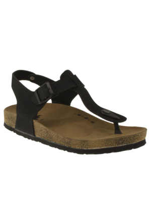 Twigy H0603 Sanda P.a Siyah Kadın Sandalet